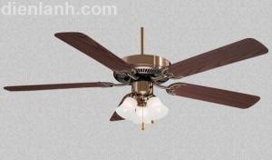 Quạt trang trí Minka Aire Contractor F647-AB