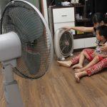 Những sai lầm khi sử dụng quạt điện trong ngày hè