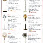 Catalogue quạt đứng KDK
