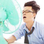 Tại sao càng bật quạt điện thì càng cảm thấy nóng?