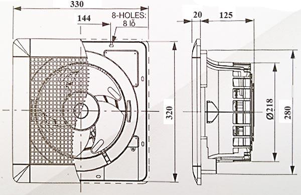Kich-thuoc-quat-hut-am-tran-mitsubishi-EX-20SC5T